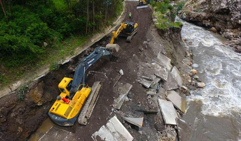 Antamina recupera carretera de San Marcos