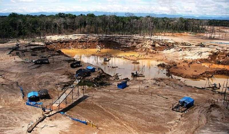 Firme lucha contra la minería ilegal