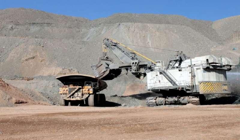 Chile: Sector minero nacional se expandió en 5,2% durante 2018