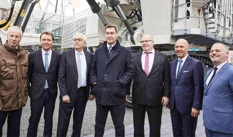Comienza la Bauma la feria más grande de construcción y minera en Múnich