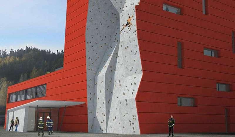 Construcciones llamativas de concreto visto con DOKA