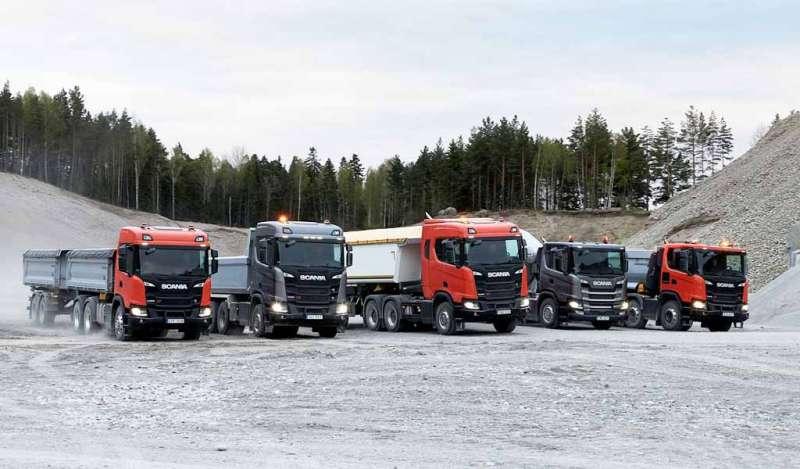 Scania muestra en Bauma cómo sus camiones y motores pueden asumir todo tipo de desafíos