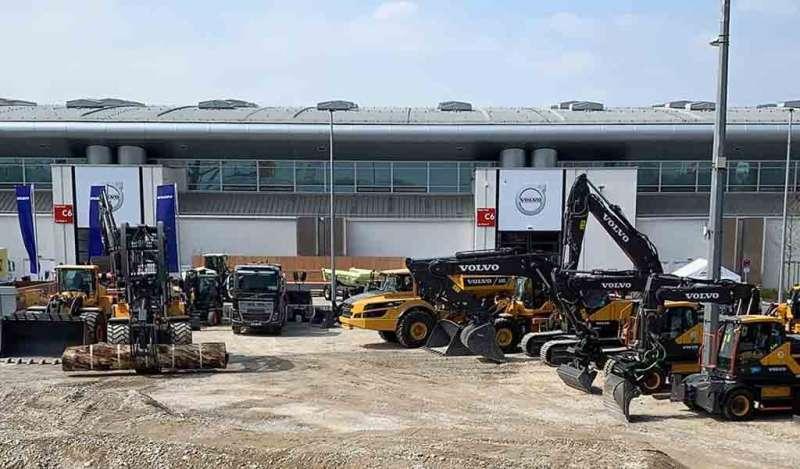 Volvo CE mira hacia el futuro eléctrico en Bauma 2019