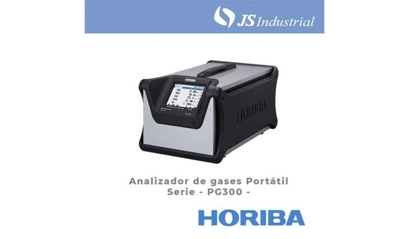 JS INDUSTRIAL - Analizador de gases portátil – Serie PG300