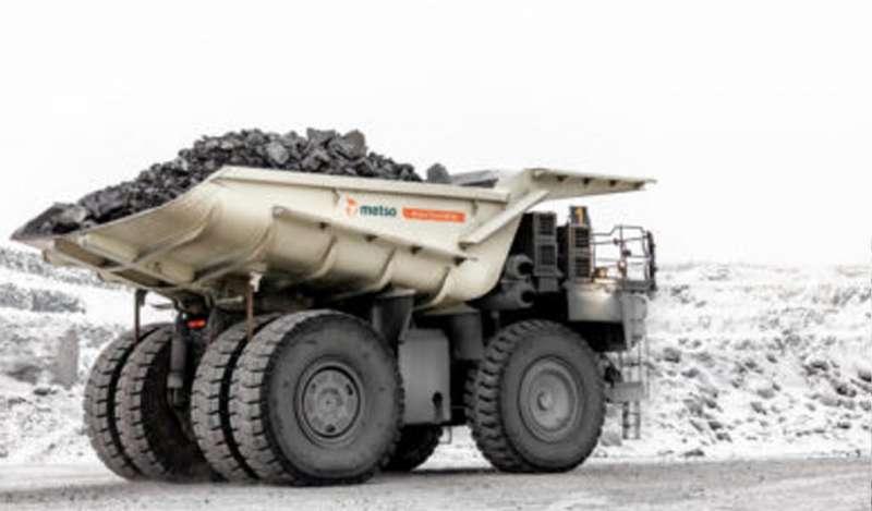 Metso lanza un cuerpo de camión híbrido en Bauma