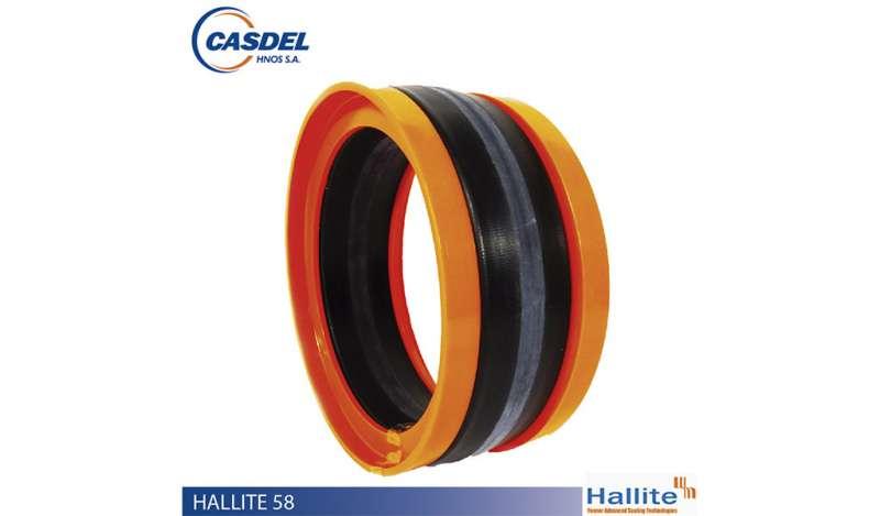 CASDEL - Sello Hidráulico HALLITE 58