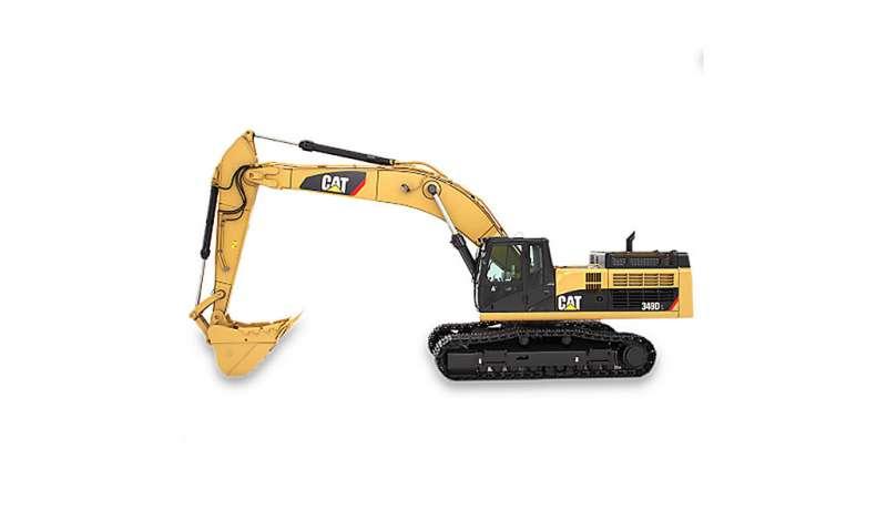 CATERPILLAR - 349D L Excavadores de Orugas Caterpillar