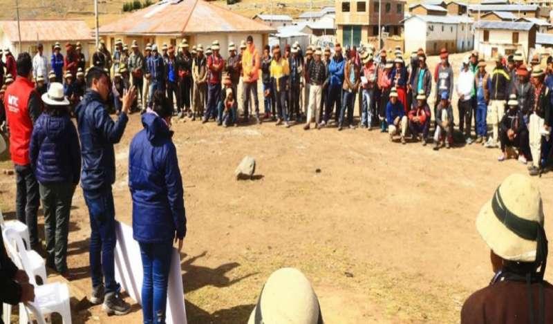 Comunidad indígena del Perú se levanta de la mesa de diálogo y evalúa nuevo bloqueo a mina Las Bambas