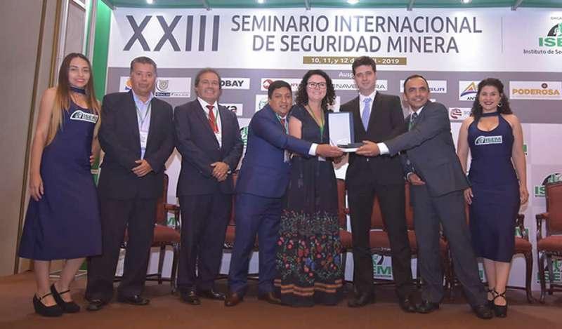 Unidad Atacocha de Nexa recibe reconocimiento en Concurso Nacional de Seguridad Minera