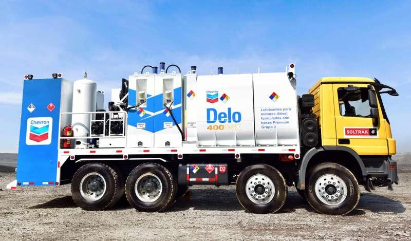 Camiones lubricadores de alta capacidad cambian tendencia en minería