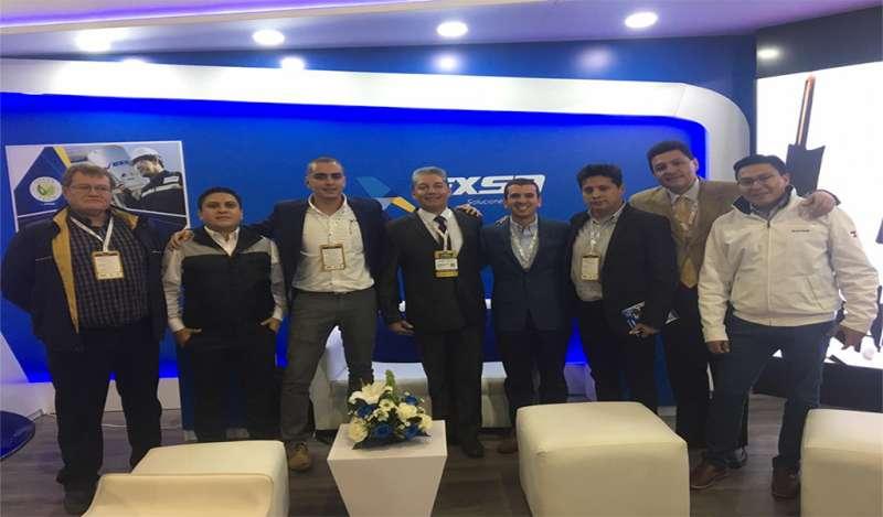 """EXSA es reconocida por sus innovadores sistemas de iniciación en la feria """"Expominas 2019"""" en Ecuador."""