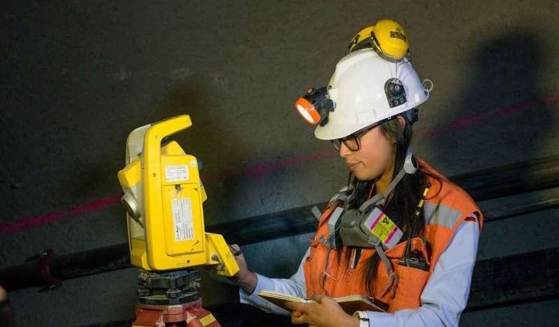 Mujeres ocupan el 6% de la masa laboral en el sector minero