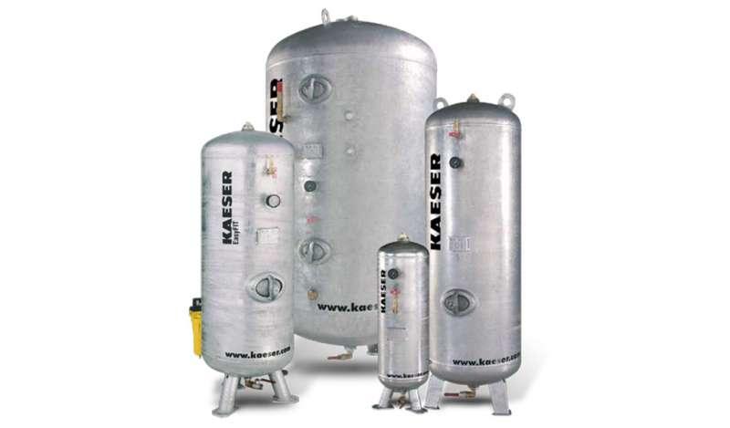 KAESER - Tanques de almacenamiento de aire comprimido
