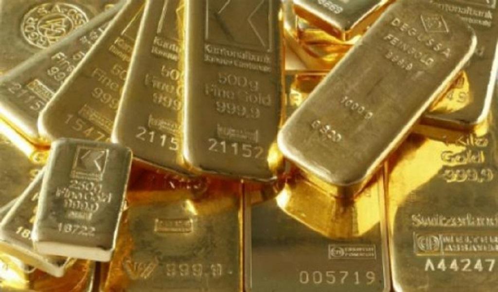 Oro cae desde máximo de 14 meses por acuerdo entre Estados Unidos y México