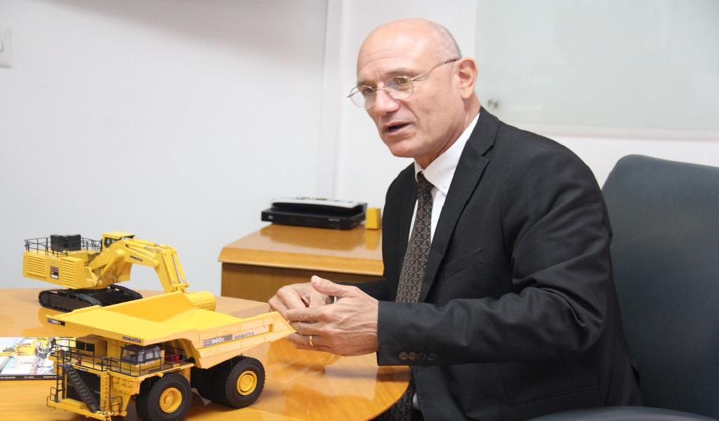 Komatsu busca satisfacer al cliente minero desarrollando nuevas tecnologías