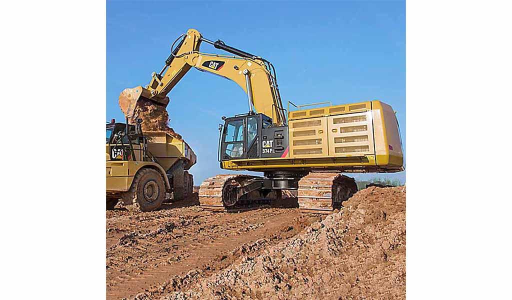 CATERPILLAR - 374F L Excavadores de Orugas Caterpillar