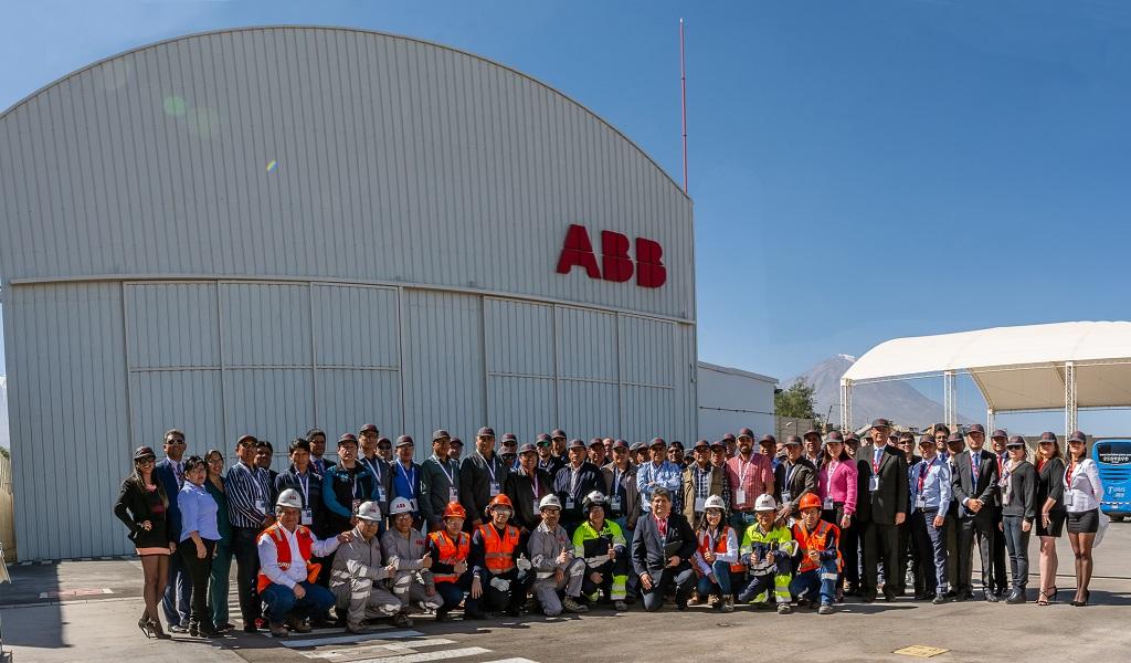 ABB lidera avance de la digitalización en mineras e industrias del sur del país