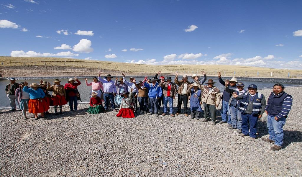 Municipalidad distrital de Pichigua y Convenio Marco de Espinar, entregan reservorios de agua para la comunidad campesina de Chellque