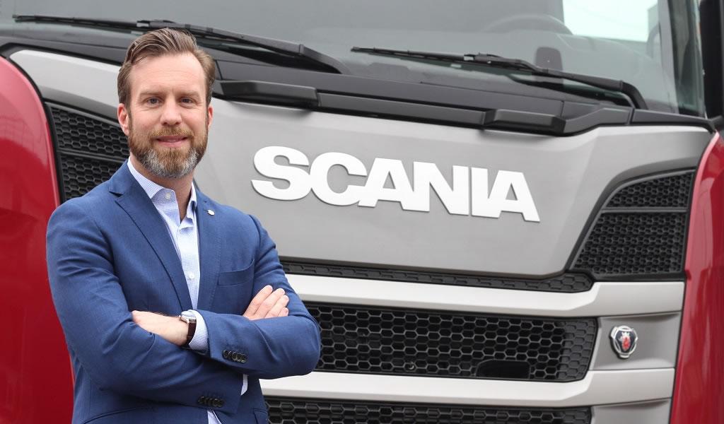 Oscar Jaern asume la dirección general de Scania del Perú