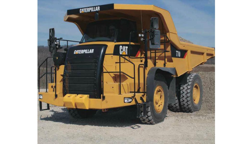 CATERPILLAR - 770 Camión para Cantera Caterpillar