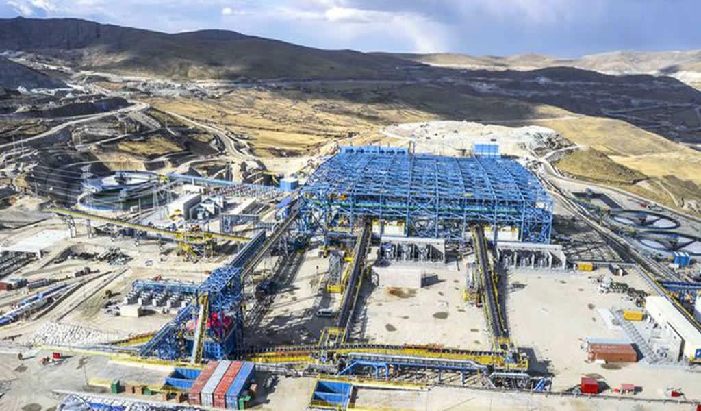 La mitad de producción minera del país se hace en las regiones del Sur