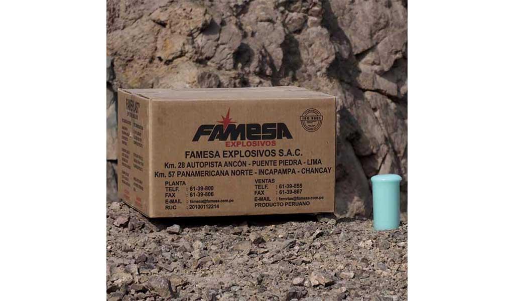 FAMESA EXPLOSIVOS - EMULFRAG - Emulsión gasificable a granel - Minería subterránea