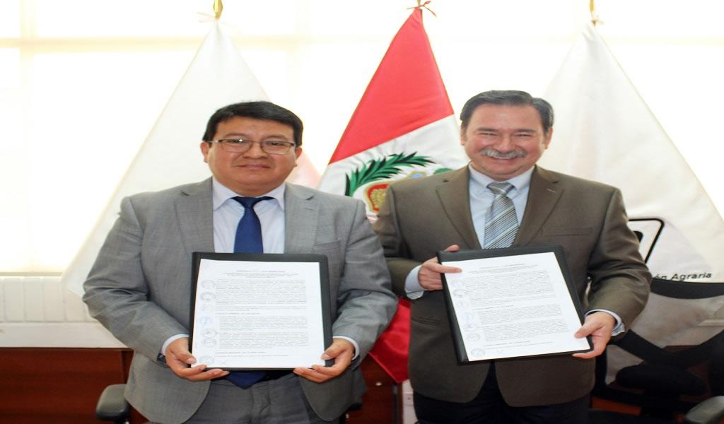 Gold Fields firma acuerdo de cooperación institucional con el INIA
