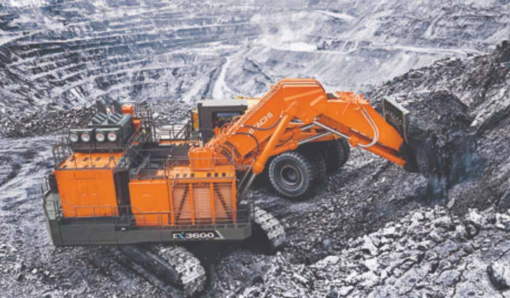 Hitachi lanza la última excavadora minera EX-7