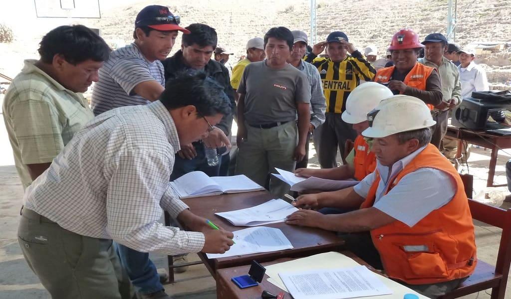 Brindarán asistencia a mineros en proceso de formalización en Madre de Dios