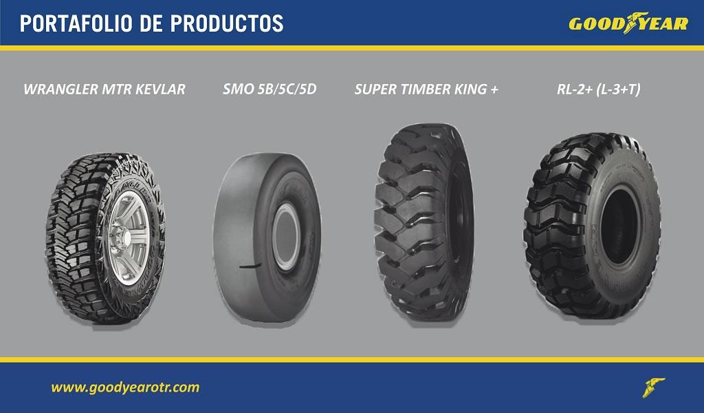 Goodyear presenta neumáticos de alta tecnología, diseño innovador y mayor resistencia en Perumin 2019
