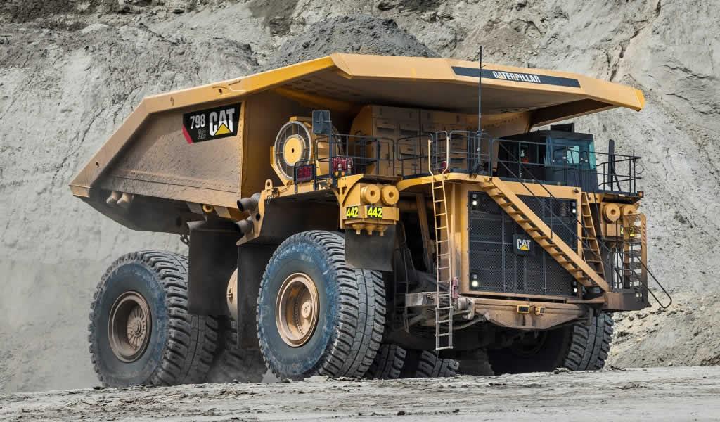 PERUMIN: camión de tracción eléctrica CAT, de 400 toneladas, llegará al Perú este año
