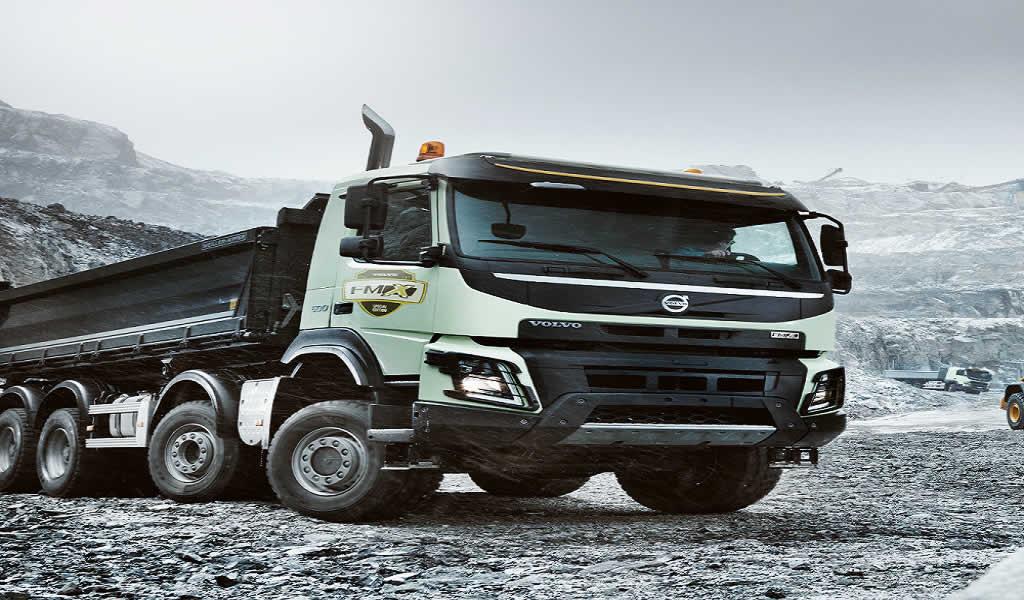 """Volvo presentó el camión FMX """"Special Edition"""" durante Perumin 34"""
