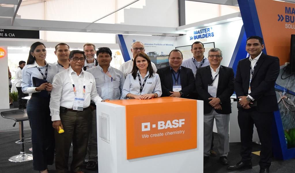 BASF presentó su portafolio de soluciones sustentables para la industria minera en PERUMIN 2019