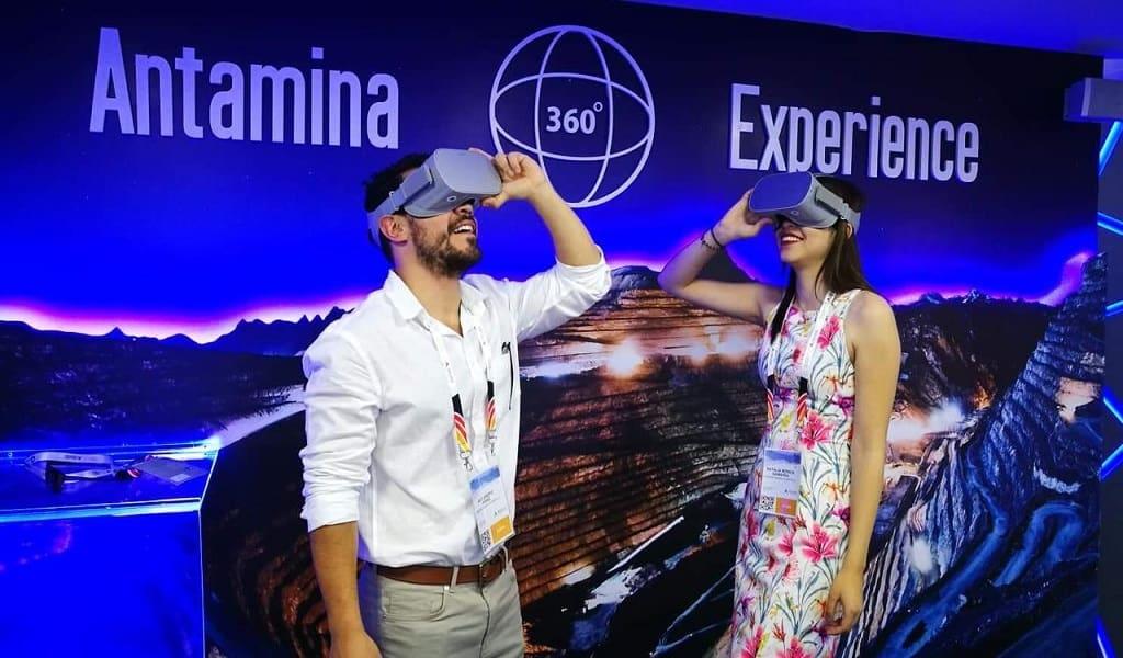 Perumin: video 360° presentado por Antamina captó la atención en la Convención Minera