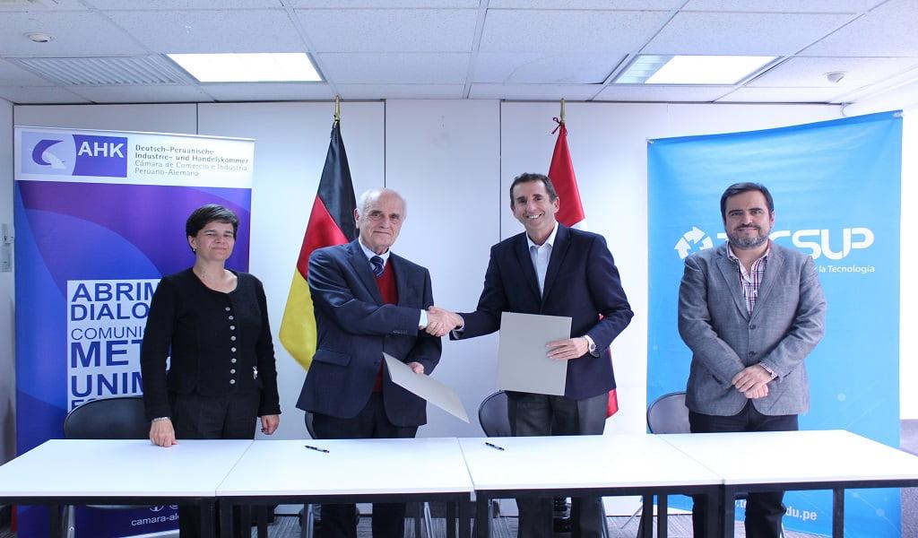 La Cámara Peruano–Alemana y TECSUP implementan especialización internacional en industria 4.0