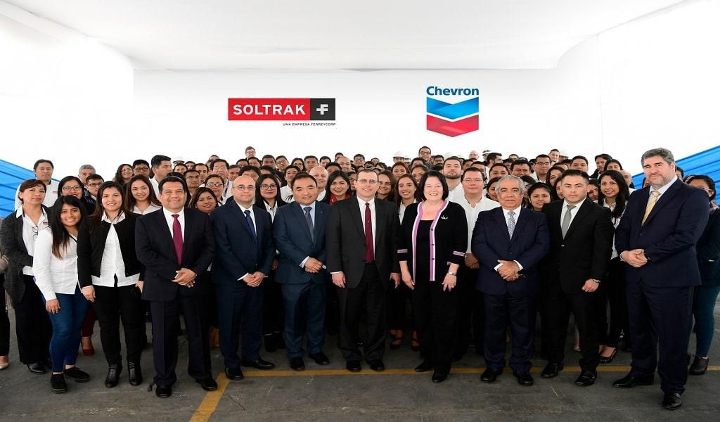 Visita de presidenta mundial de lubricantes Chevron confirma importancia del mercado peruano