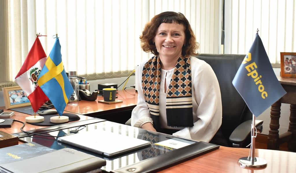 Epiroc nombra a Helena Hedblom como su nueva presidente y CEO