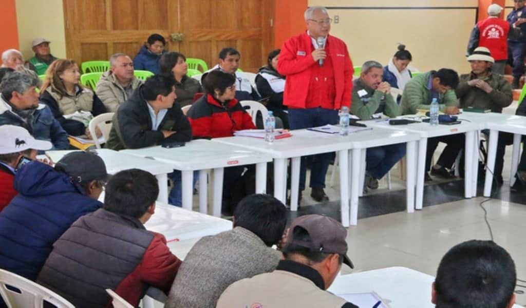 Minem instala grupo de trabajo sobre proyecto minero Las Bambas