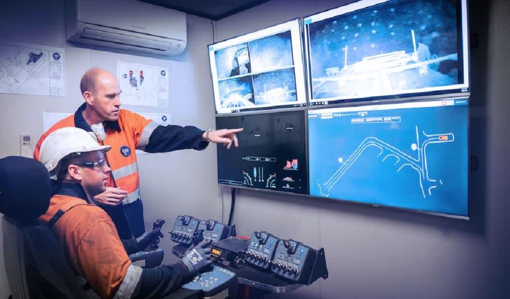 El sistema remoto de Barminco opera cargadores a 1.000 km de distancia