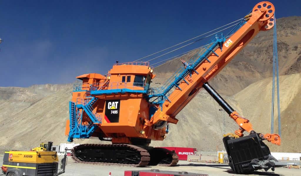Proyecto de Anglo American y Finning en Chile convierte a pala eléctrica 495HR/7495 en una de las más productivas