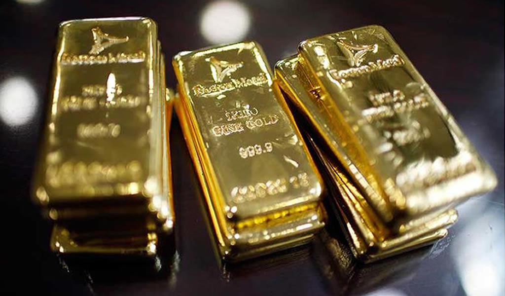 Exportaciones de oro subieron 2.7% en 2019