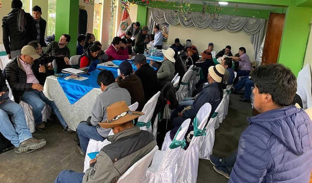 Las Bambas: informarán sobre cumplimiento de condiciones sociales del Anexo K