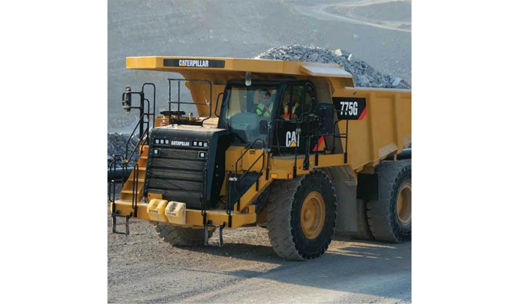 CATERPILLAR - 775G Camión para Cantera Caterpillar