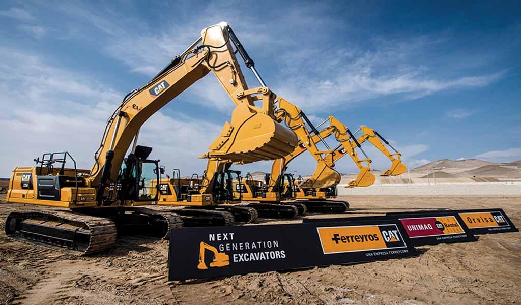 Caterpillar lanza nueve máquinas nuevas en Las Vegas