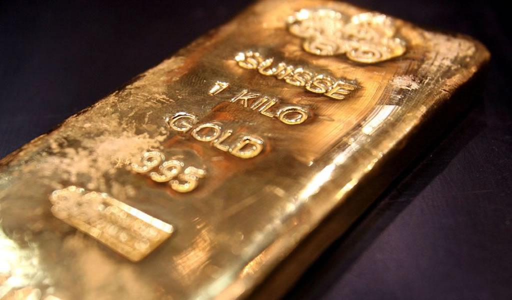 El precio del oro se dispara a un máximo de siete años