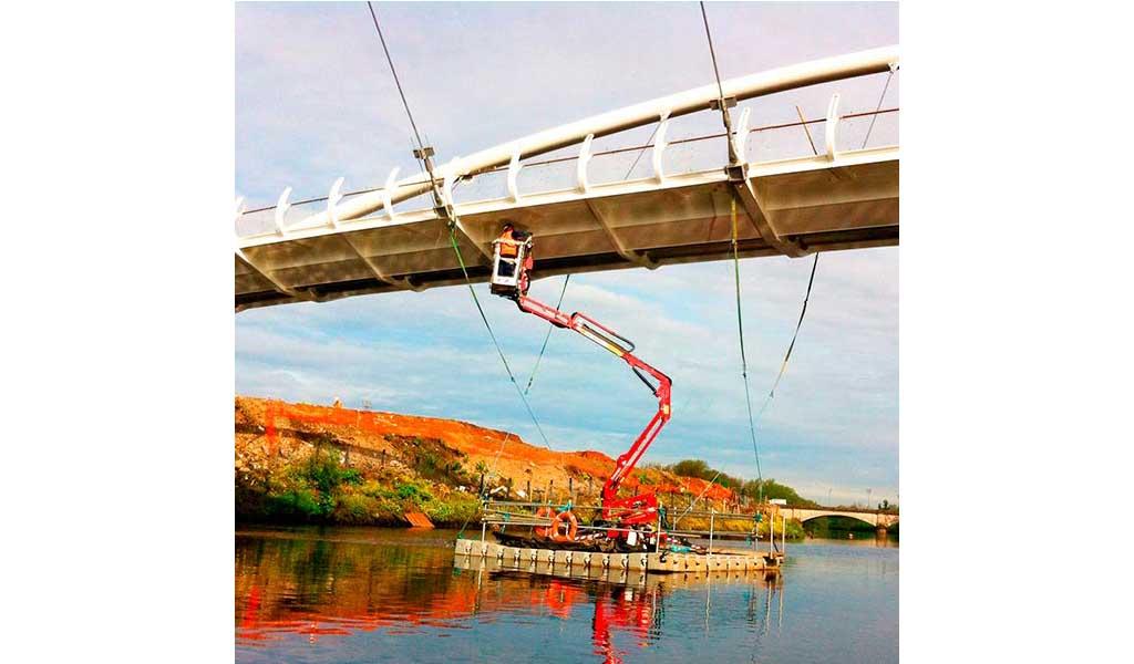 KAIVAL - Plataformas Flotantes Modulares para obras bajo puentes