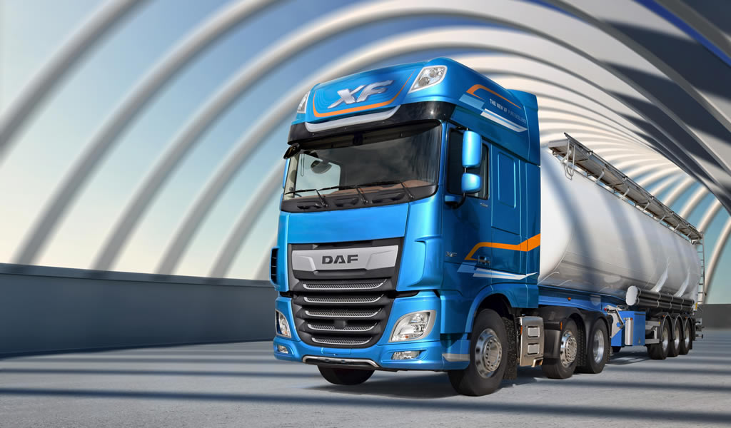 Motored presenta la nueva generación de camiones DAF-XF