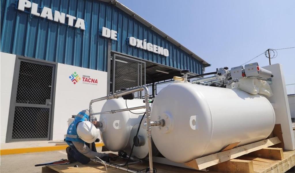 Minera Minsur dona planta de oxígeno a Tacna