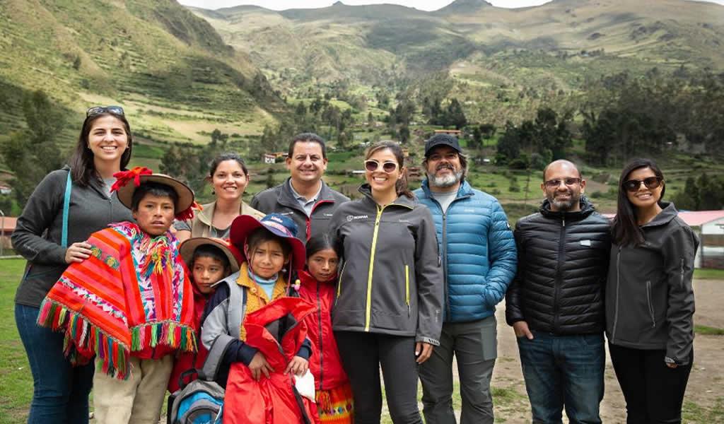 Cusco: Scania lidera programa de responsabilidad social que ayuda a población vulnerable de la región