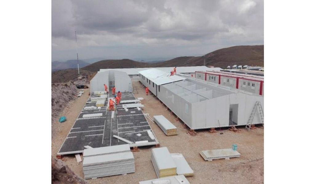 AJANI - Construcción Urbanización de campamento